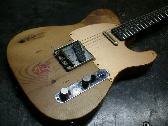 """Barncaster"" 100 year old Pine - Page 2 - Telecaster Guitar Forum"
