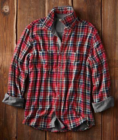 Effortlessly Cool Men's Shirts - Convivial Plaid Shirt - Carbon2Cobalt