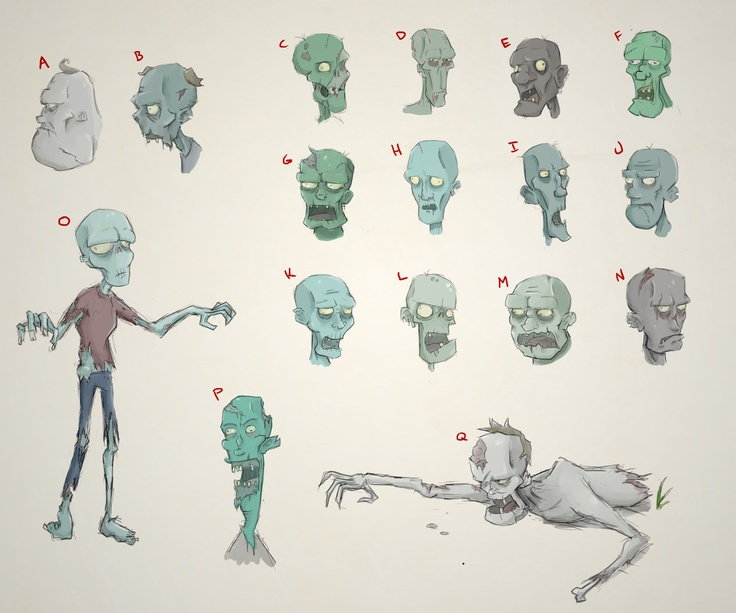 Anime Zombie Characters : Ideas about zombie drawings on pinterest
