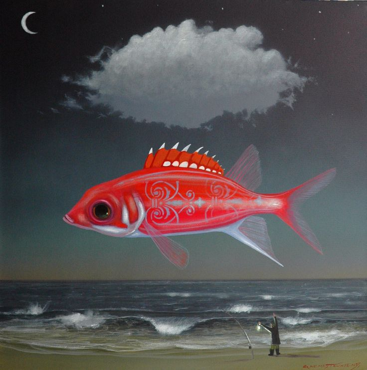 night of the red day fish