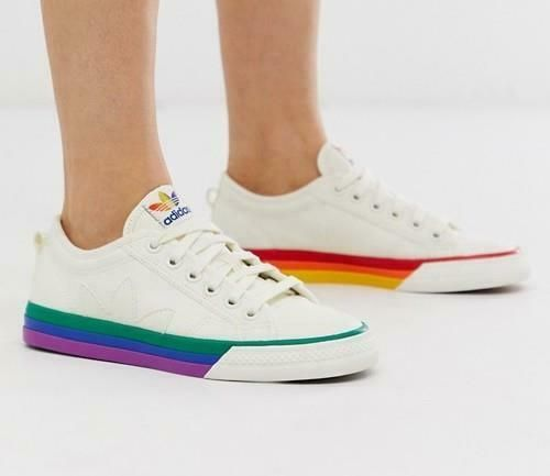 heiß Cheap Adidas Superstar LGBT Pride Pack D70351