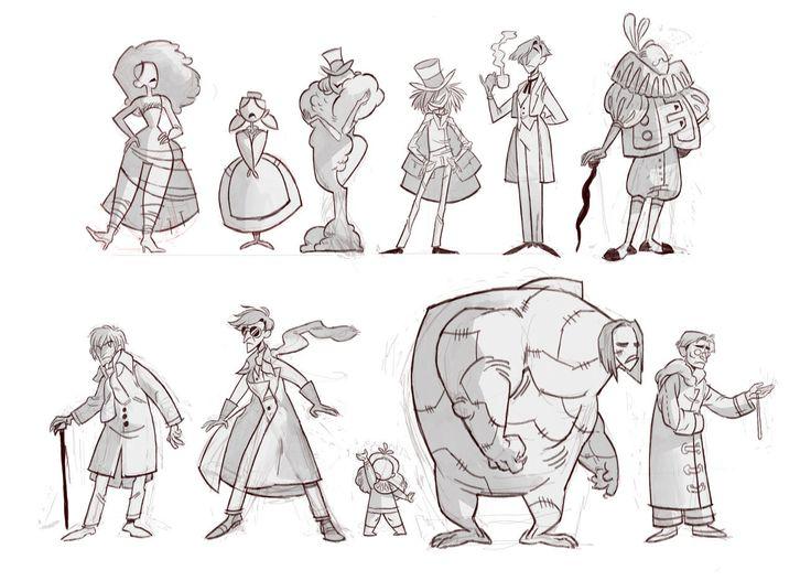 Character Design Lineup : Best frankenstein images on pinterest character