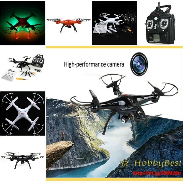 Uav Drone New Version Syma X5SC-1 RTF FPV Falcon HD Camera 4CH Gyro 6 Axis Ufo  .  This Uav Drone New Version Syma X5SC-1 has 2MP HD Camera - X5SC-1 equipped with HD camera and a 4GB memory card for picture or video storage, lets you control th...