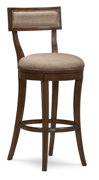 Lovely Counter Height Swivel Stools with Backs