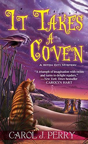 It Takes a Coven by Carol J. Perry is the sixth book in A Witch City Mystery series.  See what I thought about this new cozy mystery.  Happy Reading!