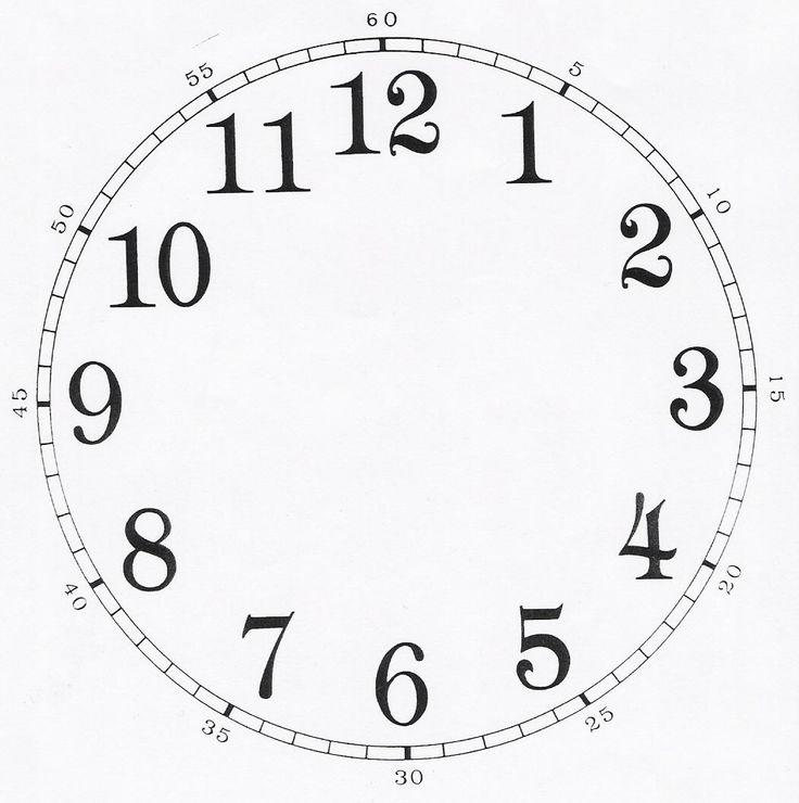 циферблат часов шаблон распечатать для детей: 21 тыс изображений найдено в Яндекс.Картинках