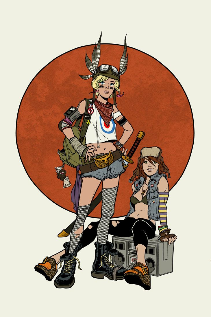 Tank Girl - Adam Huntley