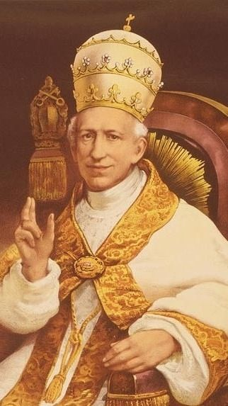 Pope Leo XIII - Defender of Christendom. Blog on Leo and Freemasonry: http://corjesusacratissimum.org/2013/10/pope-leo-xiii-pope-francis-masonic-lobbies-and-christendom/