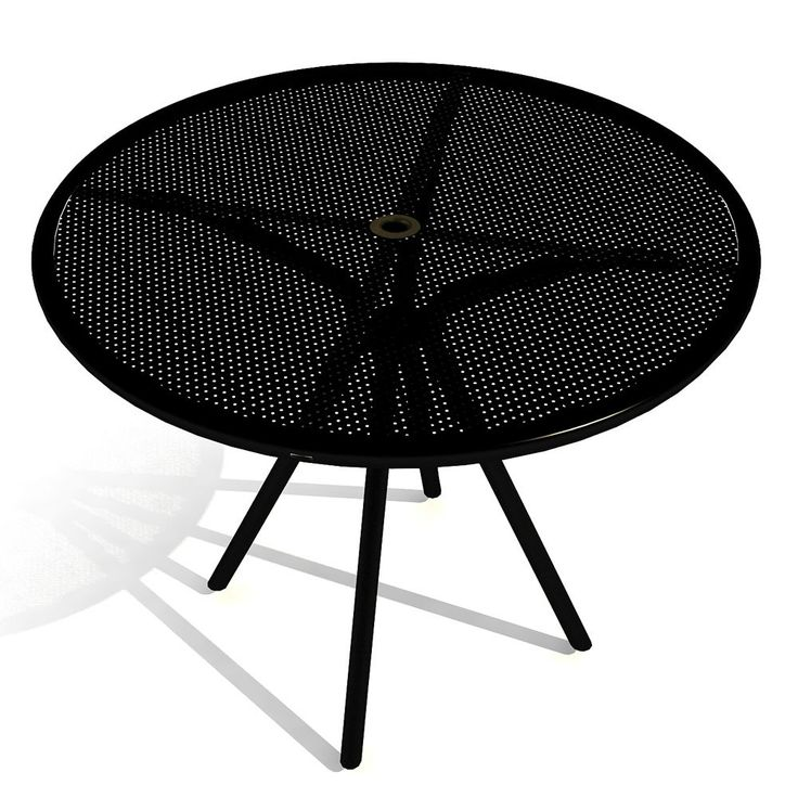 Elegant Shop American Tables And Seating 36 Inch Black Round Outdoor Table.  Unbeatable Prices And Exceptional Customer Service From WebstaurantStore.