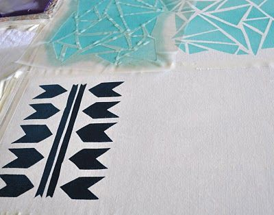 Poppytalk: DIY : Print Your Own Fabric
