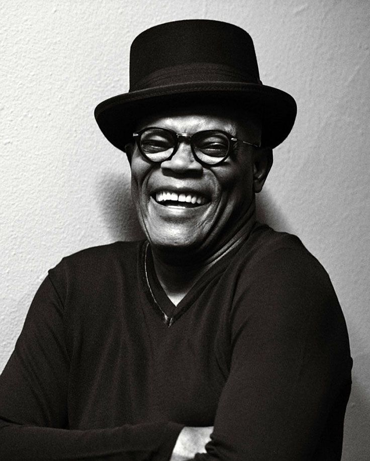 Samuel Jackson by Peter Lindbergh for W Magazine • 2016