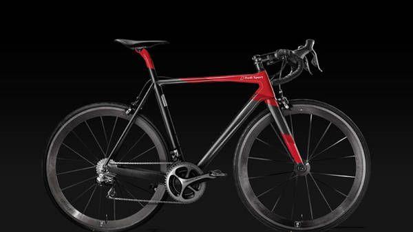 La bicicleta Audi Sport Racing Bike.