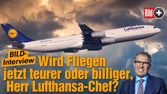 BILD-Interview mit Carsten Spohr (48)   Wird Fliegen günstiger oder teurer, Herr Lufthansa-Chef? http://www.bild.de/bild-plus/geld/wirtschaft/lufthansa/wird-fliegen-billiger-oder-teurer-herr-lufthansa-chef-40075150,var=a,view=conversionToLogin.bild.html