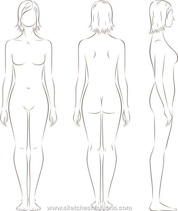 Gallery For U003e Male Body Template For Costume Design. Fashion ... Nice Design