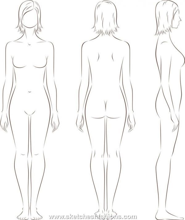 Gallery For > Male Body Template For Costume Design