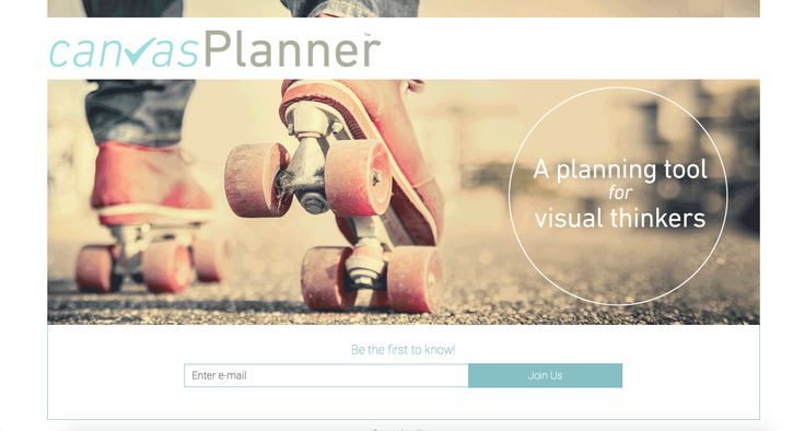 CANVAS PLANNER ✓Landingpage ready for our referral campaign August 2015!