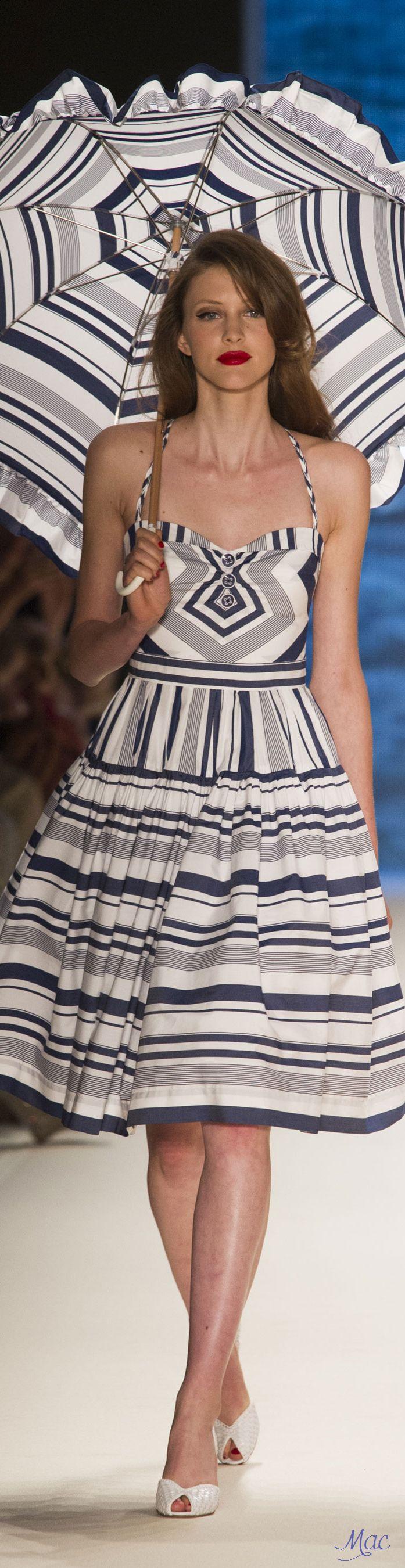 Spring 2017 Ready-to-Wear Lena Hoschek   Berlin Fashion Week