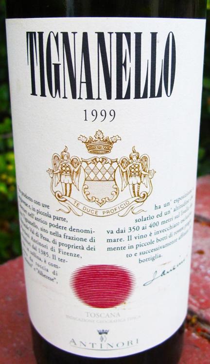 1999 Antinori Tignanello #Toscana #Tuscany #wine