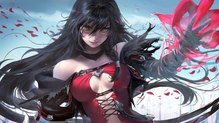 Velvet Crowe Tales of Berseria Girl Wallpaper