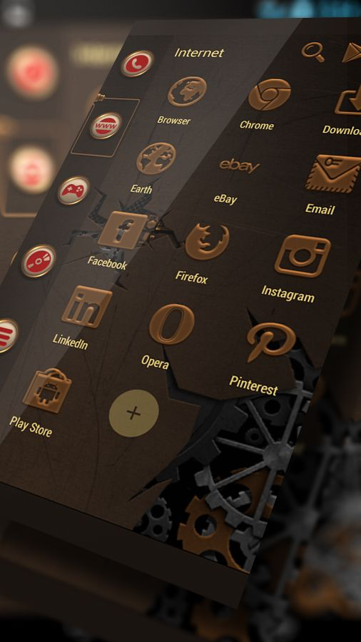 If you are a fan of the fascinating #steampunk subculture, express your  admiration with this great #Smart Launcher Steampunk theme.