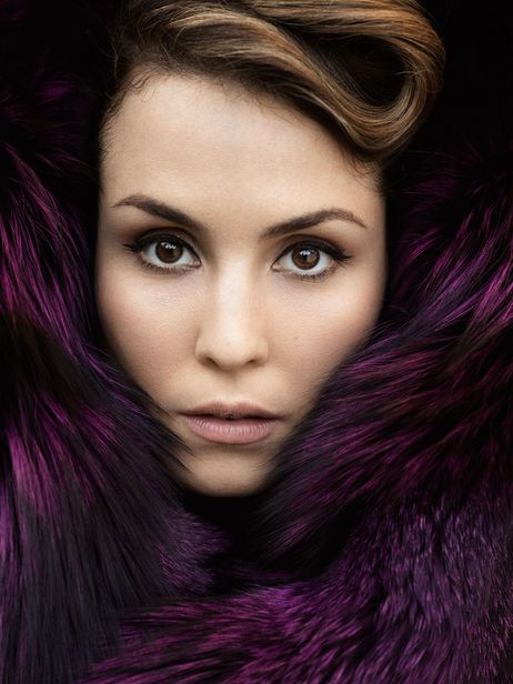 Noomi  Rapace. Her mother swedish and father spanish.