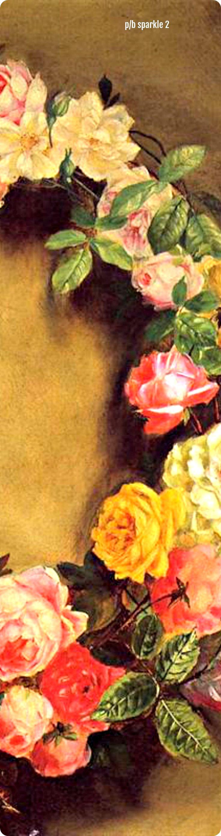 Pierre-Auguste Renoir (1841-1919): Crown of Roses, 1858 (right side)