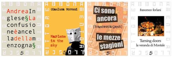 In arrivo i primi quattro volumi dell'Abbonamento allo scrittore 2012: ricevete per un anno le opere inedite di Gianluca Morozzi, Andrea Inglese, Francesca Genti e Francesco Forlani