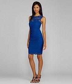 Blue dress dillards makeup