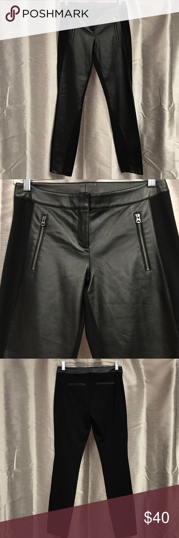 """Armani exchange leggings In great condition. 29"""" long A/X Armani Exchange Pants Leggings"""