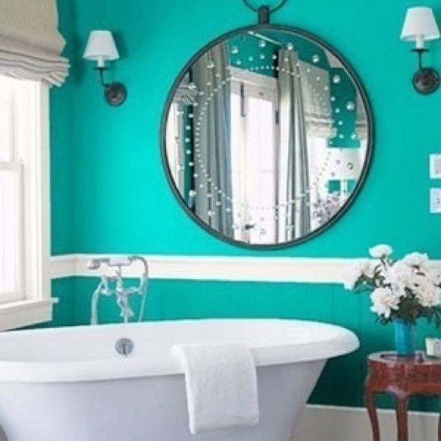 Using Bold Colors In The Bathroom: Homebuilding And Decorating Ideas