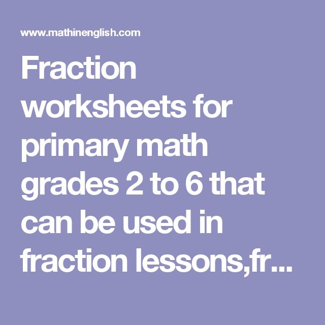 Number Names Worksheets online fraction worksheets Free – Online Fraction Worksheets