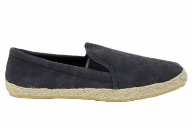 Mens Summer Fashion Canvas Gents Espadrilles Shoes- not my favorite but better than boat shoes...