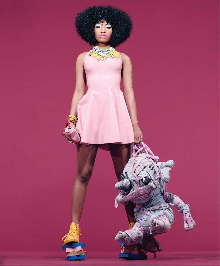 "Nicki Minaj for Blackbook Magazine March 2011 issue. Article: ""Meteoric Rise of Nicki Minaj""."