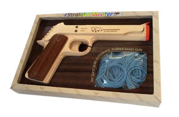 Modelo 1911 pistola de goma Backorderd. 2-3 por ElasticPrecision
