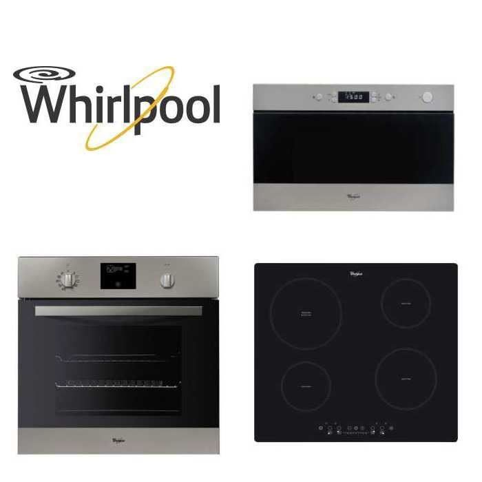 Pack WHIRLPOOL Encastrable Four+Micro-ondes+Plaque - Achat / Vente LOT APPAREIL CUISSON Pack WHIRLPOOL - Cdiscount Soldes_819 eUROS
