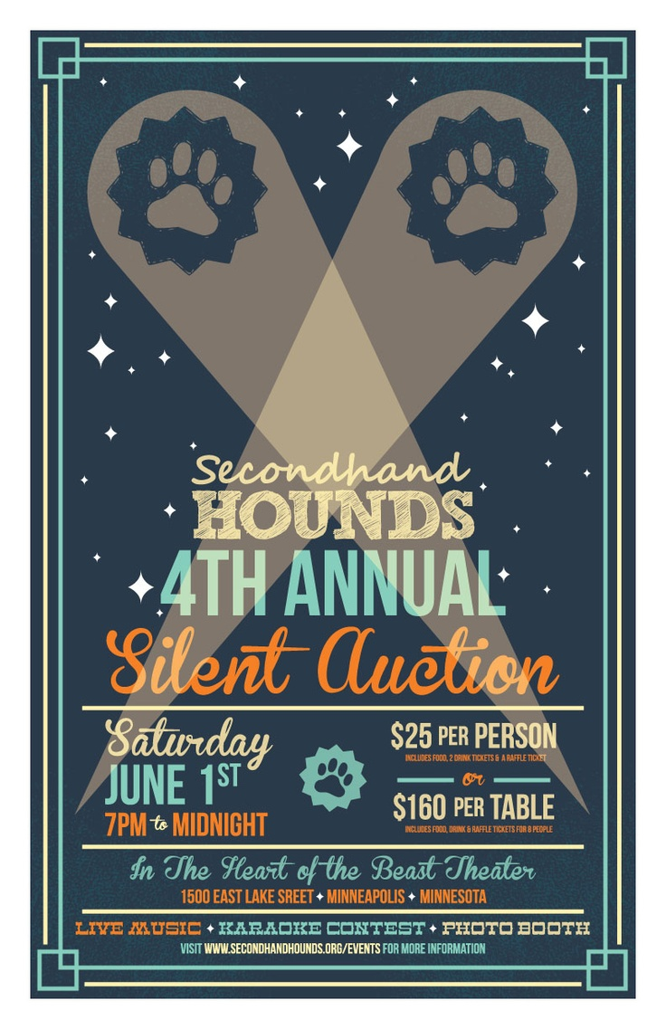 Promotional Poster!   Artists create promo posters for bands, posters which are often highly prized and purchased at shows.  Partner with a local artist and have he/she create a limited edition run for your upcoming fundraising event!