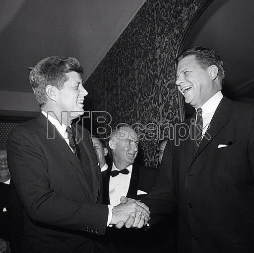 1961 1er Mars By Bob Schutz John F Kennedy Shakes