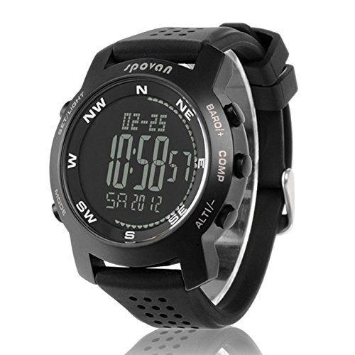 Spovan multifuncional relojes deportivos de excursión subir reloj deportivo