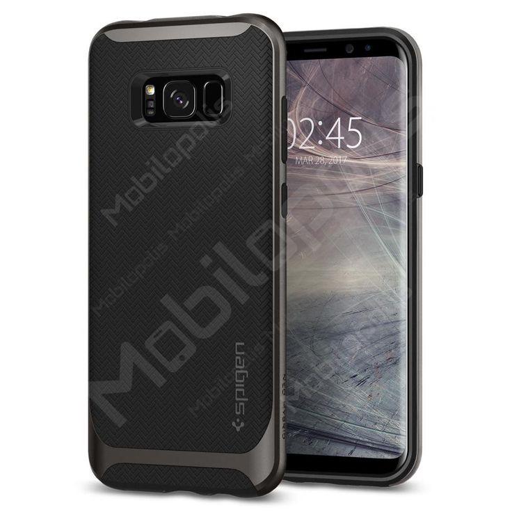 Kryt na Samsung Galaxy S8 Spigen Neo Hybrid šedý | Mobilopolis.cz