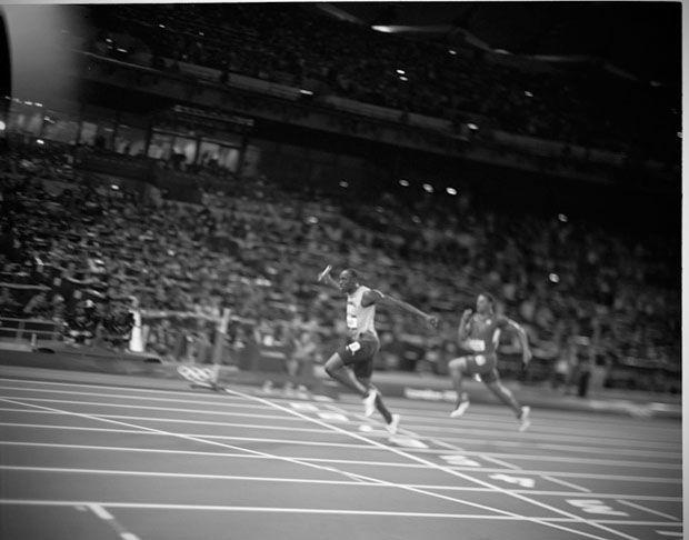 David Burnett's Speed Graphic Photos of the London 2012 Olympics