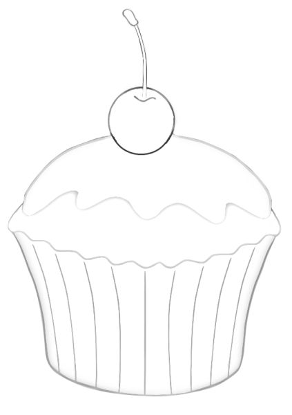 25  best ideas about cupcake template on pinterest