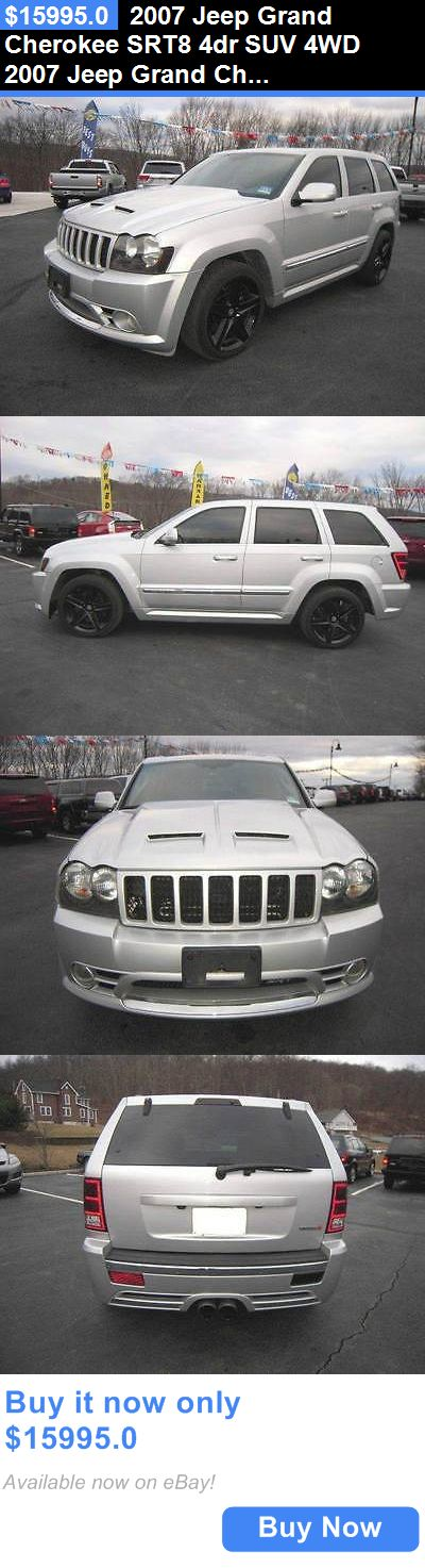 SUVs: 2007 Jeep Grand Cherokee Srt8 4Dr Suv 4Wd 2007 Jeep Grand Cherokee Srt8 4Dr Suv 4Wd Suv Automatic 5-Speed Silver BUY IT NOW ONLY: $15995.0