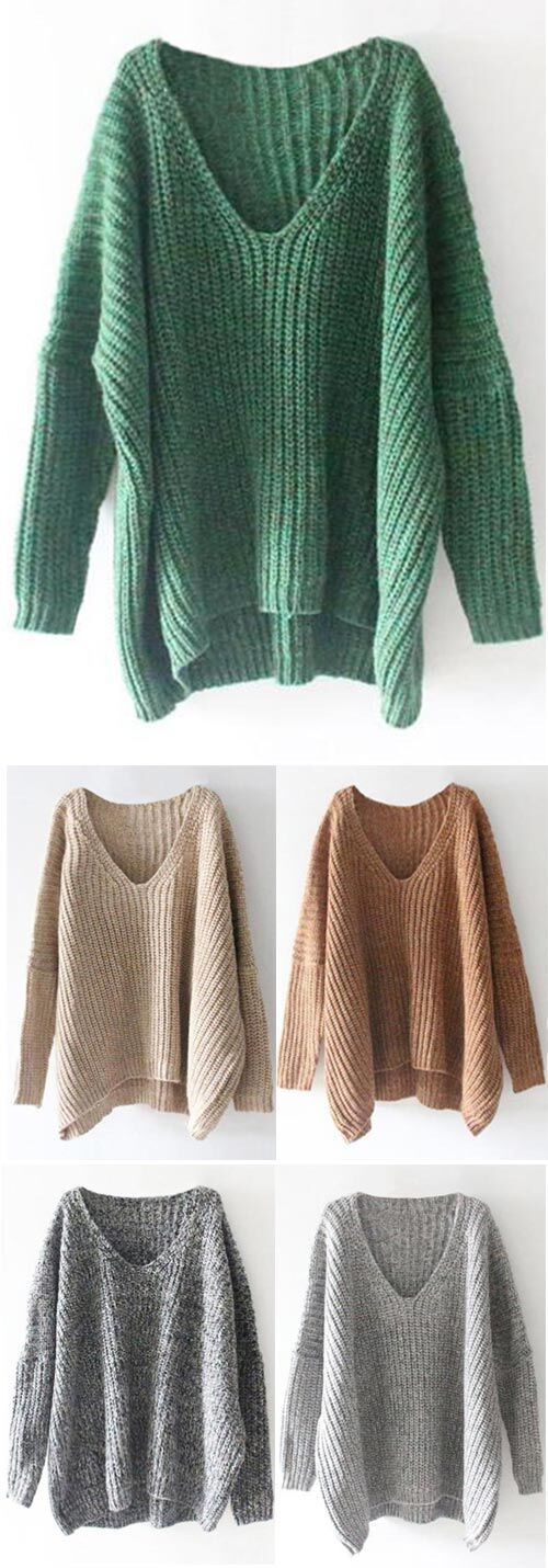 Casual Sweater, $31.99 Now! Free Shipping~ Easy Return + Refund! If you're going on a trip this holiday season or just staying home then this sweater will be perfect for you in fall! It's so comfy and casual. More surprise from Cupshe.com