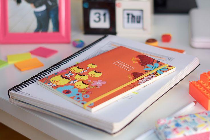 #Libreta #Design #Floral #Flowers #HechoAMano #Regalo #Notebook #Journal #Sketchbook #stationery  Libretas cosidas a mano de tapa blanda. El color y belleza de la naturaleza te acompañará todos los días. Frescas, simples y armónicas, estas libretas son un rayo de sol en esos días de invierno.  http://www.macaron.com.ar