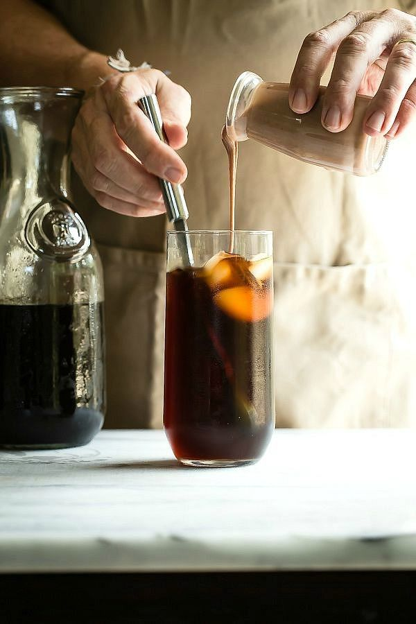 110 best cold brew images on pinterest drinks kitchens and coffee cold brew coffee with mocha condensed milk foodness gracious malvernweather Choice Image