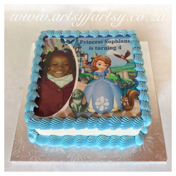 Sofia the First Cake #sofiatgefirstcake
