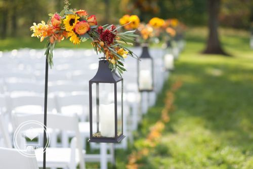 shepard hooks weddings | Decorated Shepherd's Hooks with Lanterns | Hitched Weddings + Events