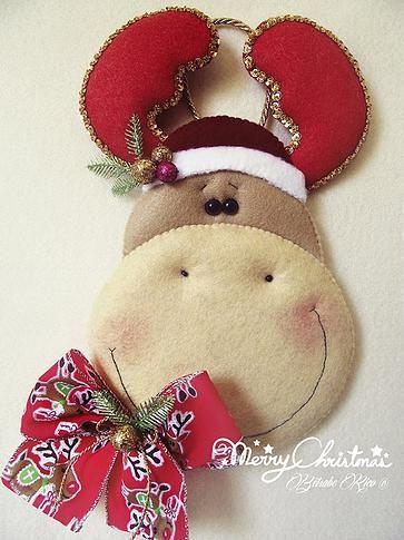 Manualidades en Fieltro y algo más Betsabe Rico © | Halloween/Christmas Time Paatterns