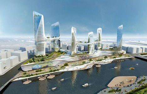Diseño arquitectónico del nuevo distrito central de negocios chino de Tongzhou