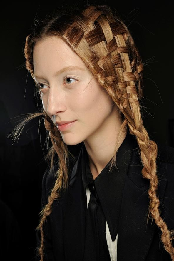 Cool Hairstyles For Long Hair Delectable Unique Hairstyles For Long Hair